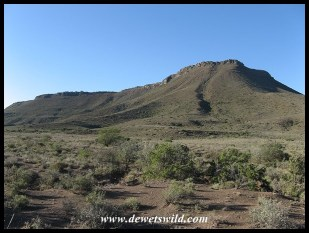 Karoo National Park Landscape