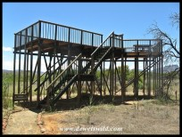 Viewing platform in the camping area