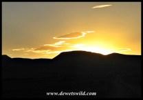 Sunset over the Camdeboo