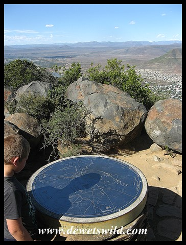 Making sense of the toposcope at the Valley of Desolation