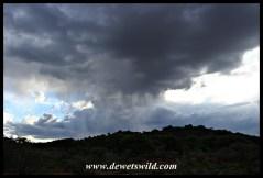 Thunderstorm rolling over Mokala