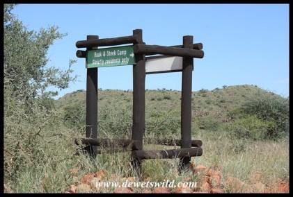 Signpost for Haak-en-Steek