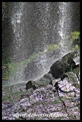 Joubert's artistic impression of the Witpoortjie Falls