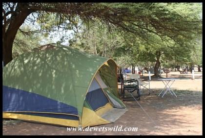 Camping at Bakgatla, Pilanesberg National Park, November 2018