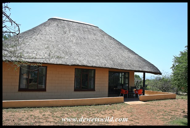 Chalet 16 at Mpila in the Hluhluwe-Imfolozi Park, December 2018