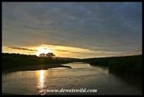 Sunrise over the Black Umfolozi River