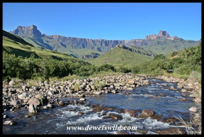 The Amphitheatre from the Tugela River