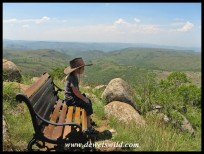 4 Years old: December 2013. Quiet contemplation atop a hill at Ithala Game Reserve.