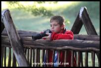 9 years old: May 2019. Joubert at Austin Roberts Bird Sanctuary