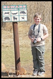 10 years old: August 2019. Joubert at Rietvlei Nature Reserve celebrating his 10th birthday party