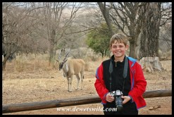 9 Years old: August 2018. Celebrating his 9th birthday at Rietvlei Nature Reserve!