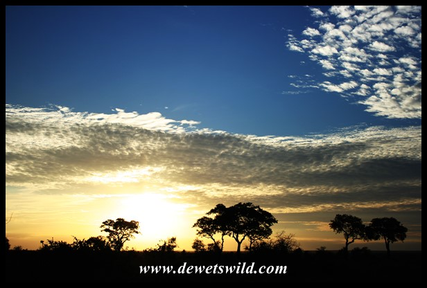 Sunset near Satara