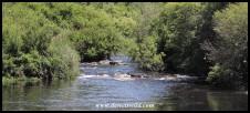 Breede River rapids at Lang Elsie's Kraal