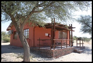 Cottage 8 at Nossob, Kgalagadi Transfrontier Park, June 2018