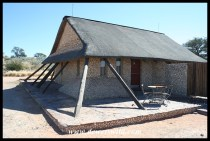 Chalet 24 at Twee Rivieren, Kgalagadi Transfrontier Park, June 2018
