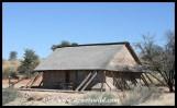 Cottage 25 at Twee Rivieren, Kgalagadi Transfrontier Park, June 2018
