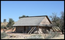 Cottage 25 at Twee Rivieren, Kgalagadi Transfrontier Park, June 2018
