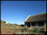 Our accommodation at Karoo National Park - Chalet #28