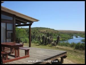 Chalet #7 at Lang Elsie's Kraal Rest Camp in the Bontebok National Park