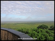 View towards the north-west from Kwasheleni Tower