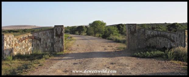 The entrance to Lang Elsie's Kraal Rest Camp in the Bontebok National Park