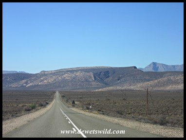 The Swartberg seen from the N12