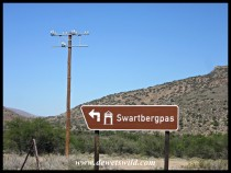 The start of the Swartberg Pass