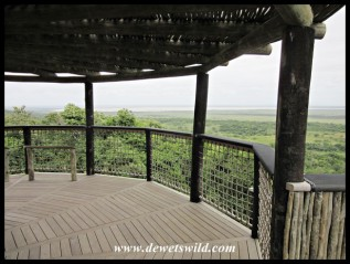 Kwasheleni Tower and view