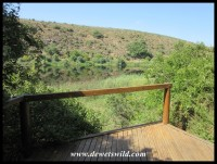 One of the decks along the Bushbuck Trail overlooking the Breede River