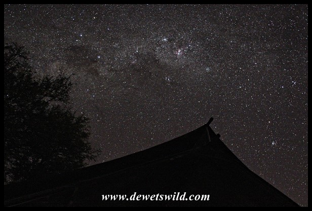 The Milky Way above our tent (photo by Joubert)