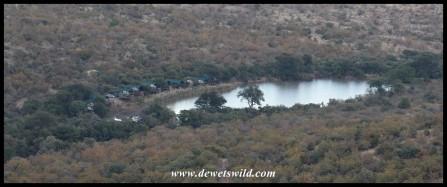 Tlopi Tented Camp, Marakele National Park, June 2021, seen from Mbidi Loop
