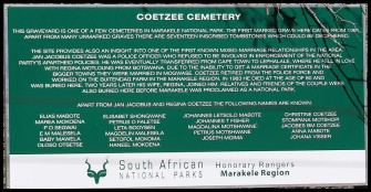 Coetzee Family Cemetary