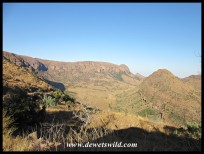 View from atop the Waterberg
