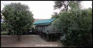 Tent #10 (Loerie) at Tlopi Tented Camp, Marakele National Park, June 2021