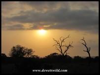 Sunrise over the Sweni plains